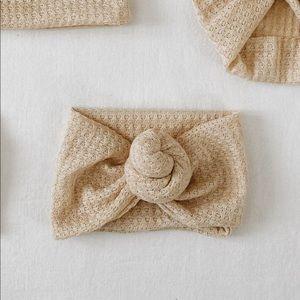 Baby Waffle Knit Knot Turban